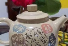 建水紫陶白泥德钟壶: 茶道匠心,紫陶德钟。 涤我酒脾,润我诗肠!-紫陶街