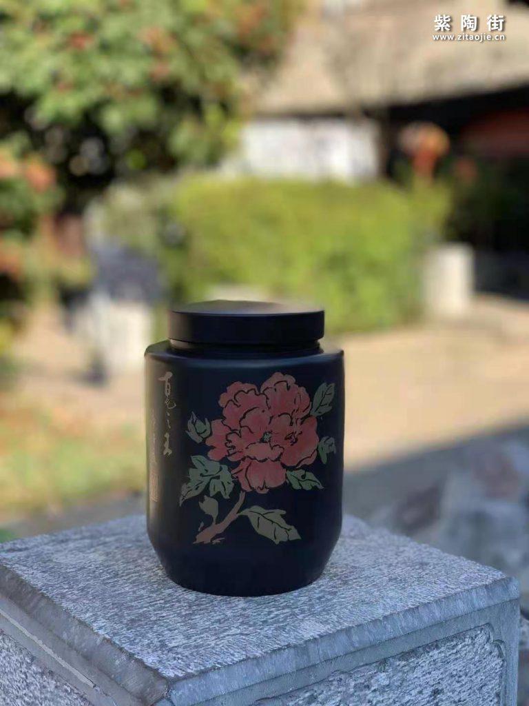 范成雄紫陶茶罐欣赏插图19
