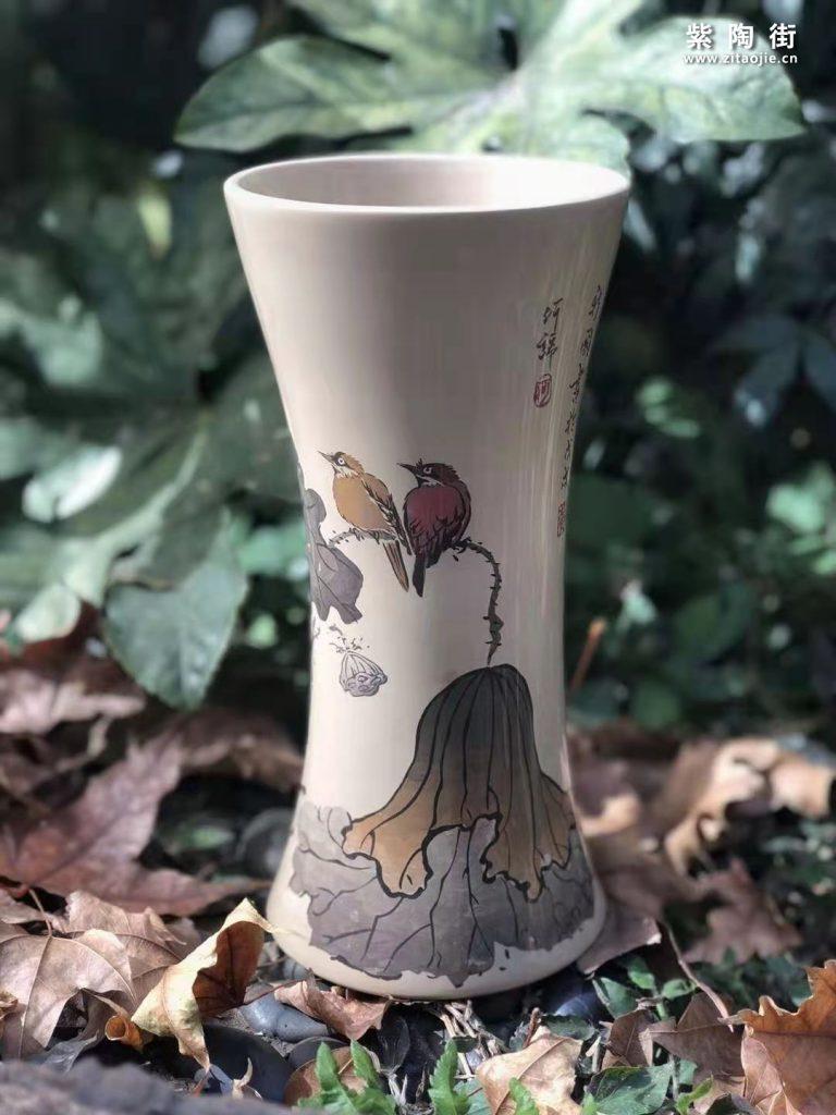 建水紫陶杨春丽介绍和紫陶壶作品欣赏插图10