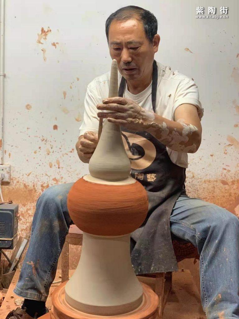 范成雄紫陶茶罐欣赏插图1