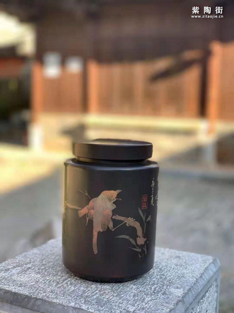范成雄紫陶茶罐欣赏插图20