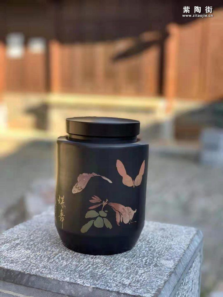 范成雄紫陶茶罐欣赏插图21