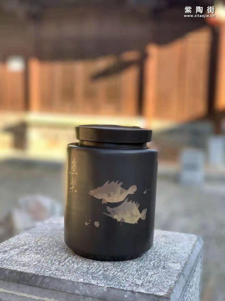 范成雄紫陶茶罐欣赏插图22