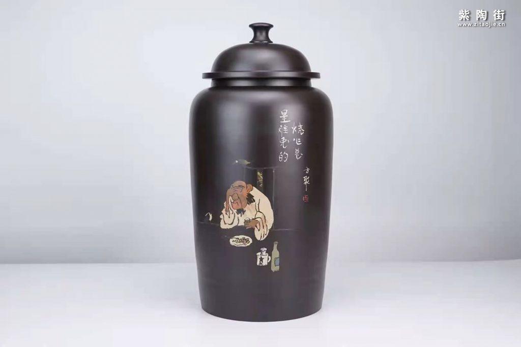 建水方聚紫陶作品欣赏插图6