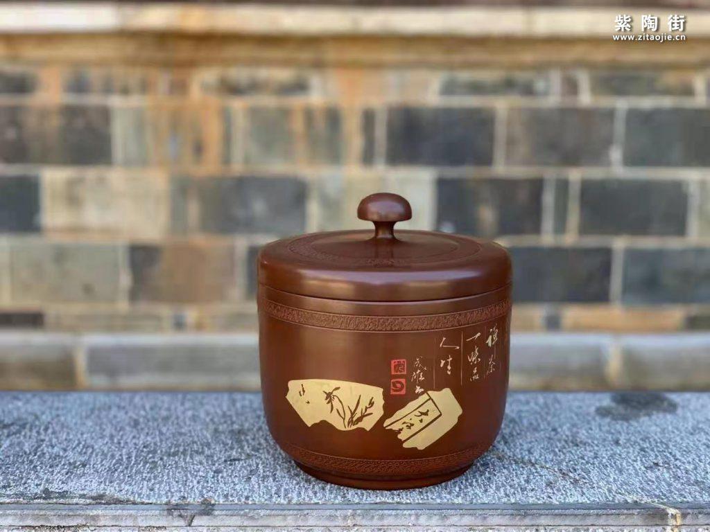 范成雄紫陶茶罐欣赏插图26