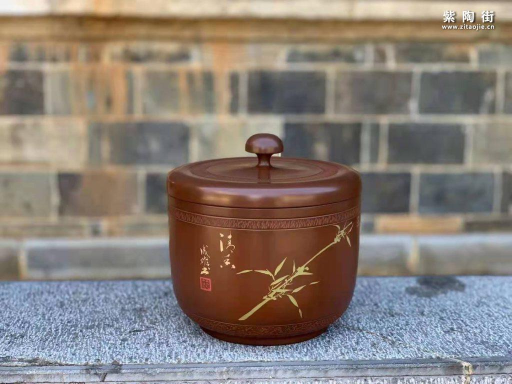 范成雄紫陶茶罐欣赏插图31