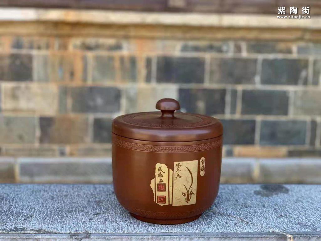 范成雄紫陶茶罐欣赏插图33