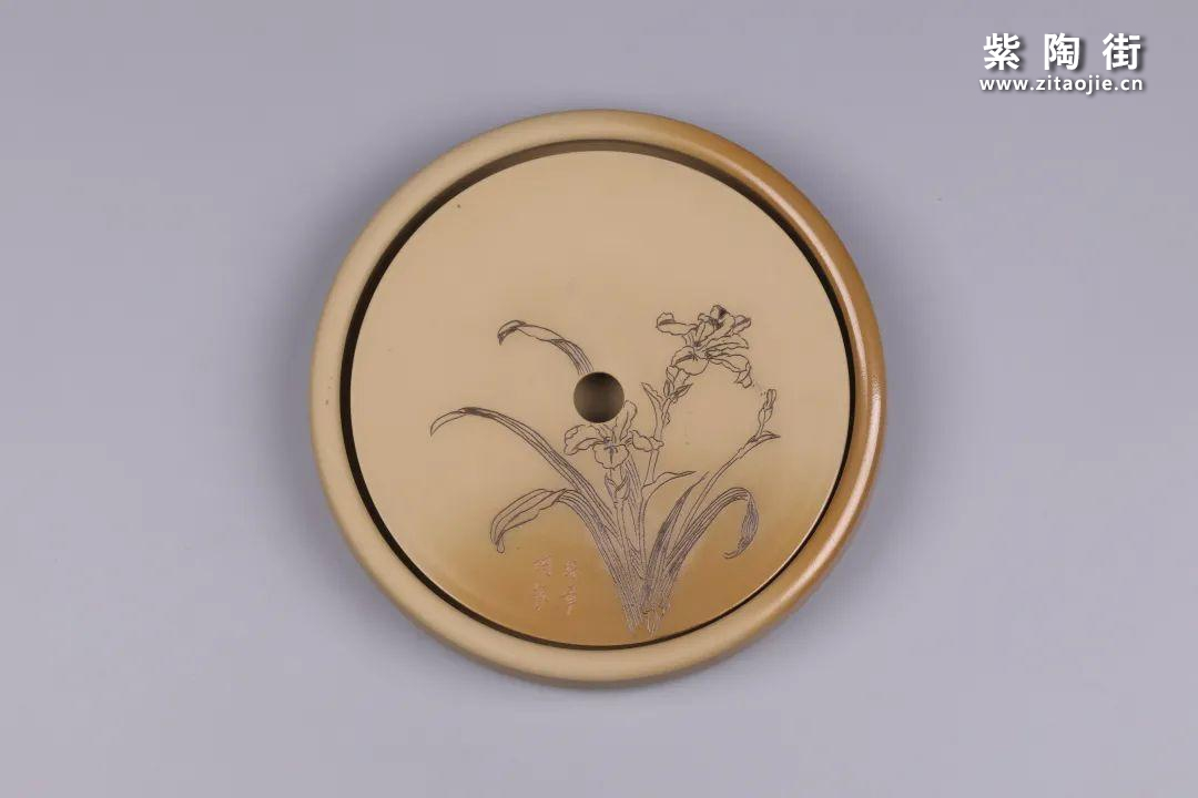 建水紫陶干泡盘插图7