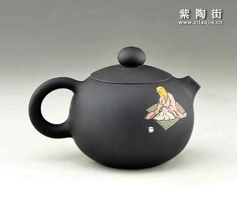 王志伟紫陶壶插图8