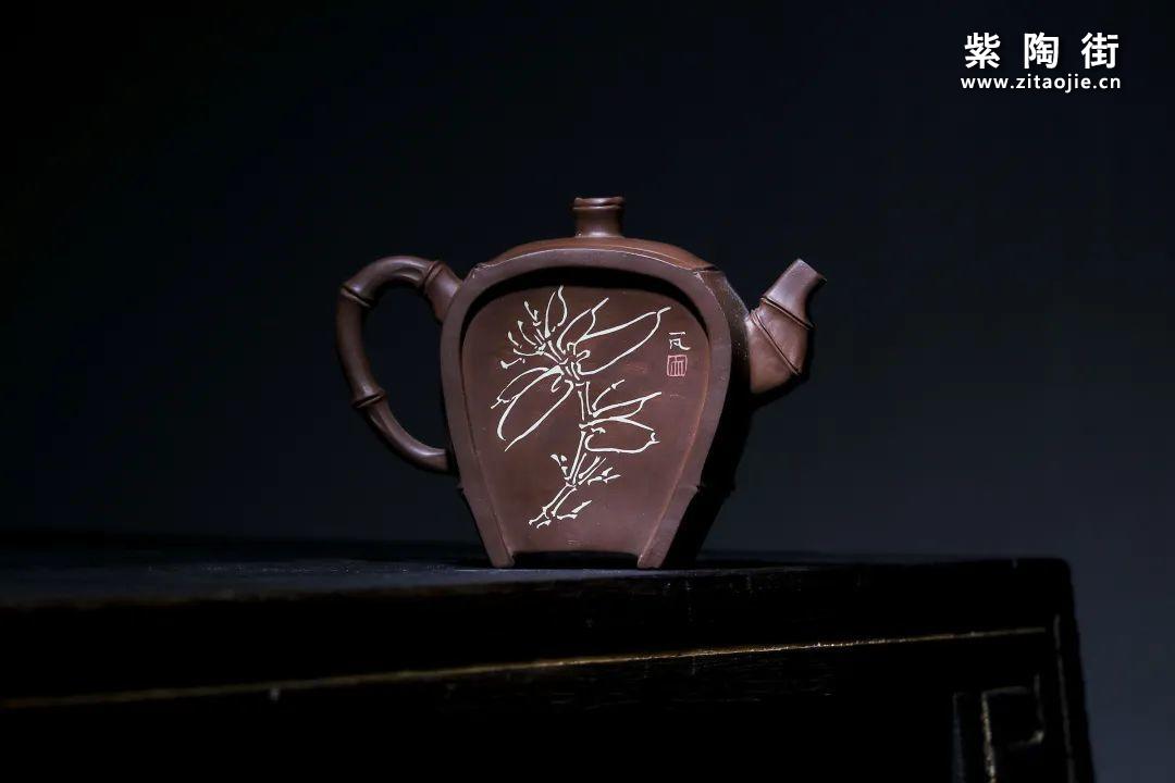 钱权达(朽木)、许洪智合作紫陶作品插图