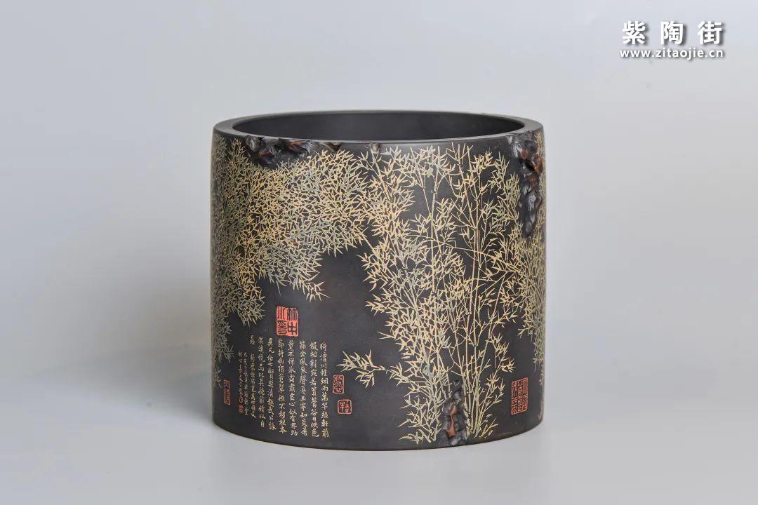 李勇和儿子李想的介绍及紫陶作品欣赏插图2