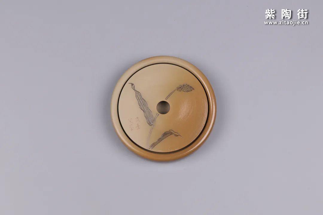 建水紫陶干泡盘插图73
