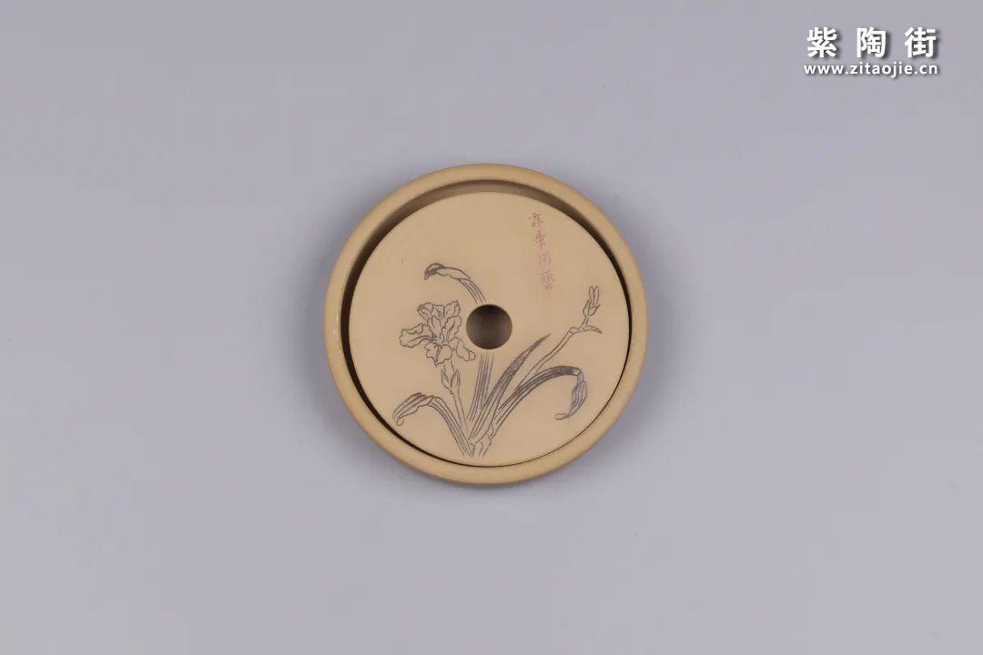 建水紫陶干泡盘插图81
