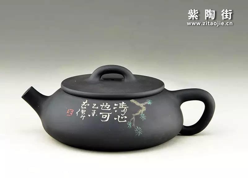王志伟紫陶壶插图12