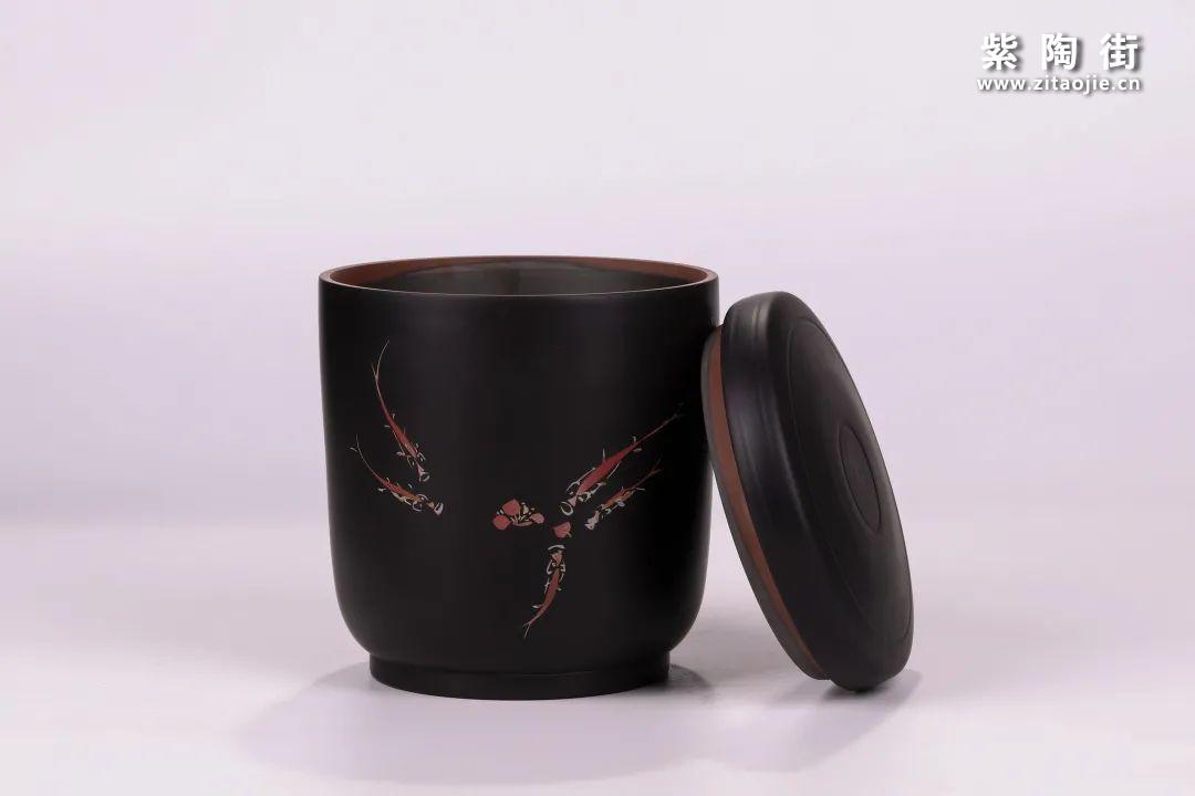 建水紫陶醒茶罐插图15