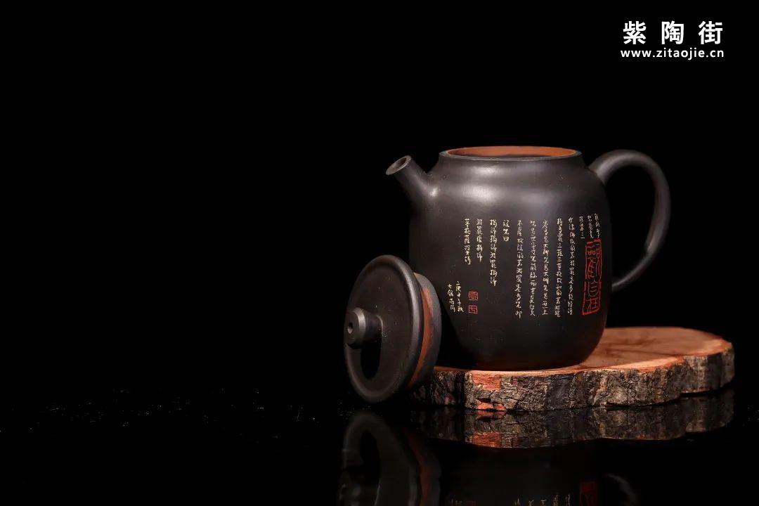 装饰有禅意的建水紫陶壶插图15
