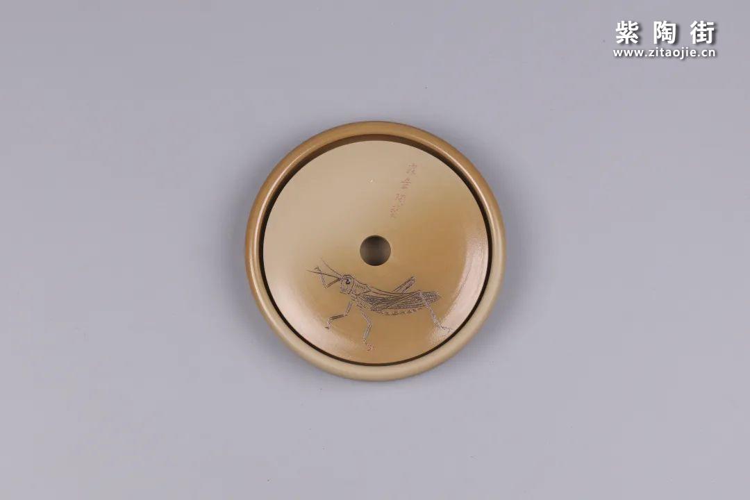 建水紫陶干泡盘插图36