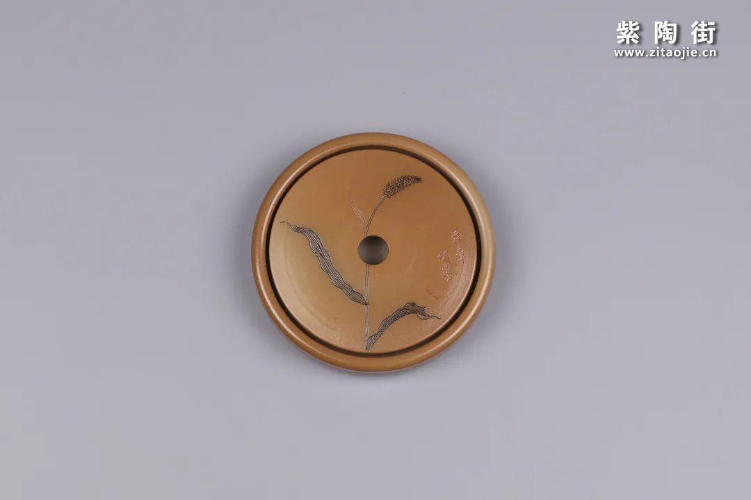 建水紫陶干泡盘插图94