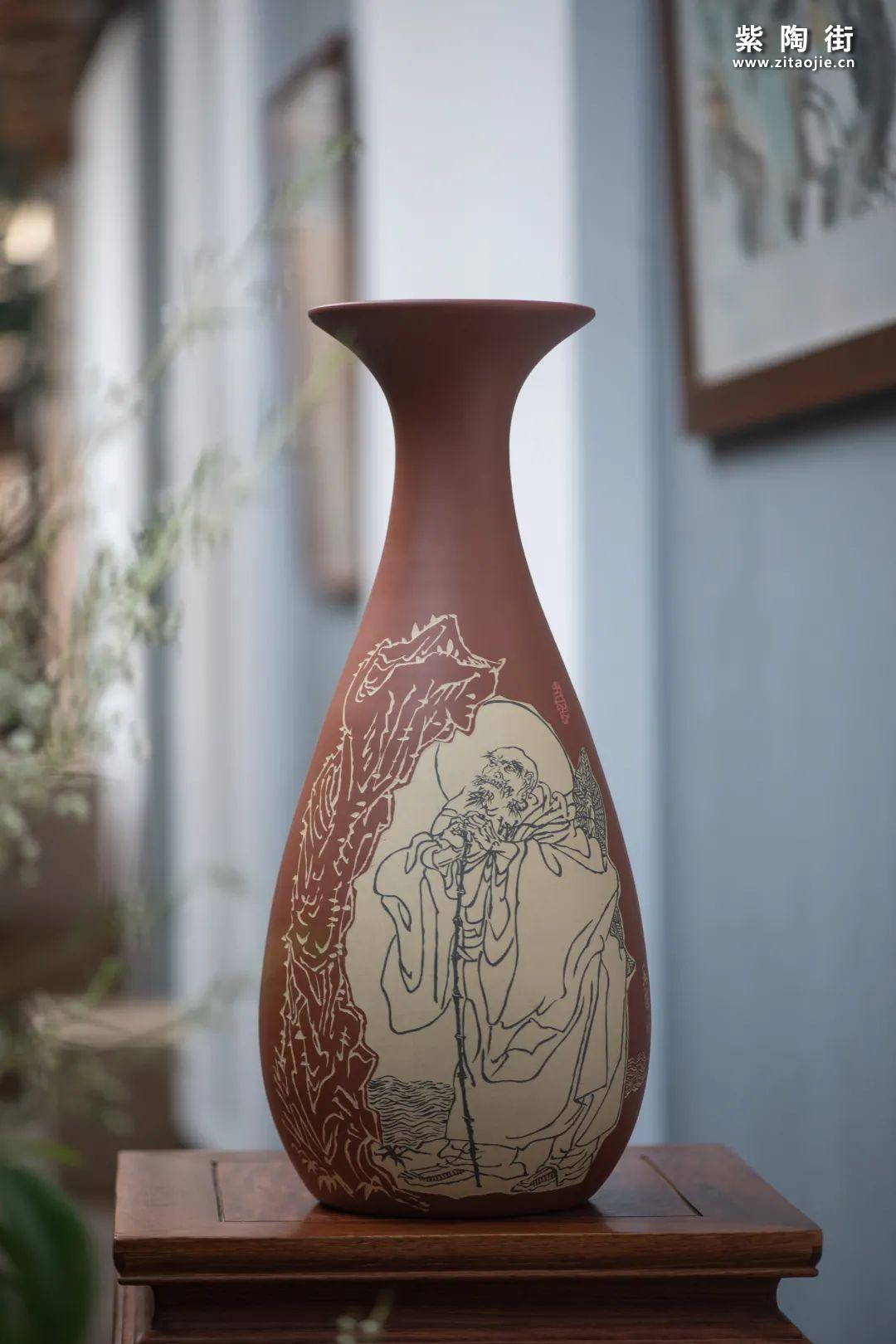 建水紫陶羊肝红是什么样子的插图12