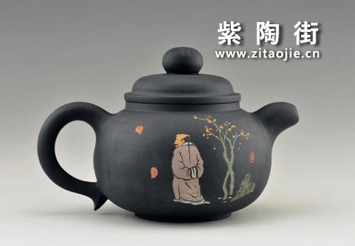 金秋赏壶-王志伟紫陶工作室出品插图11