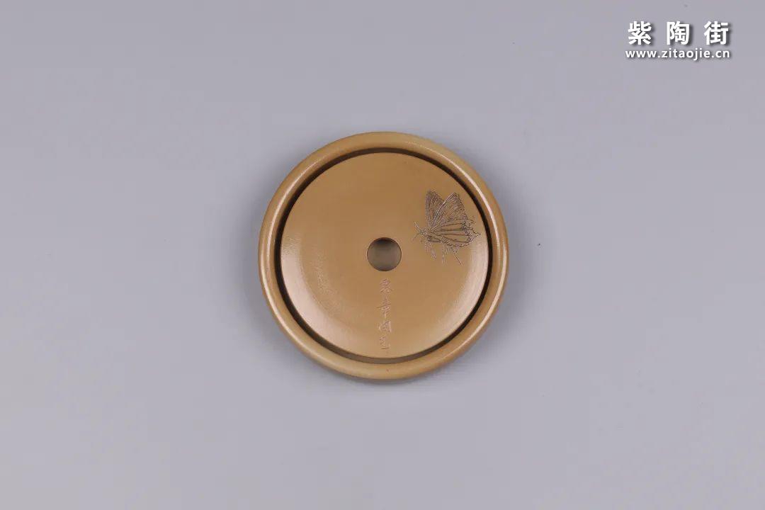 建水紫陶干泡盘插图68