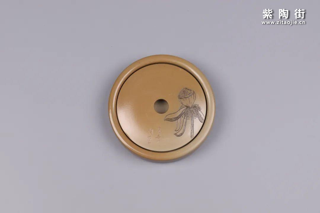 建水紫陶干泡盘插图78