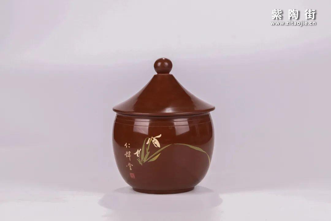 建水紫陶醒茶罐插图23