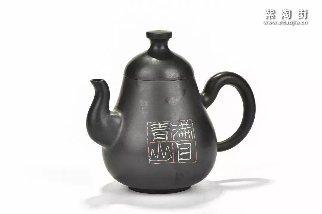 曾慧玲(子雨)建水紫陶作品鉴赏插图15
