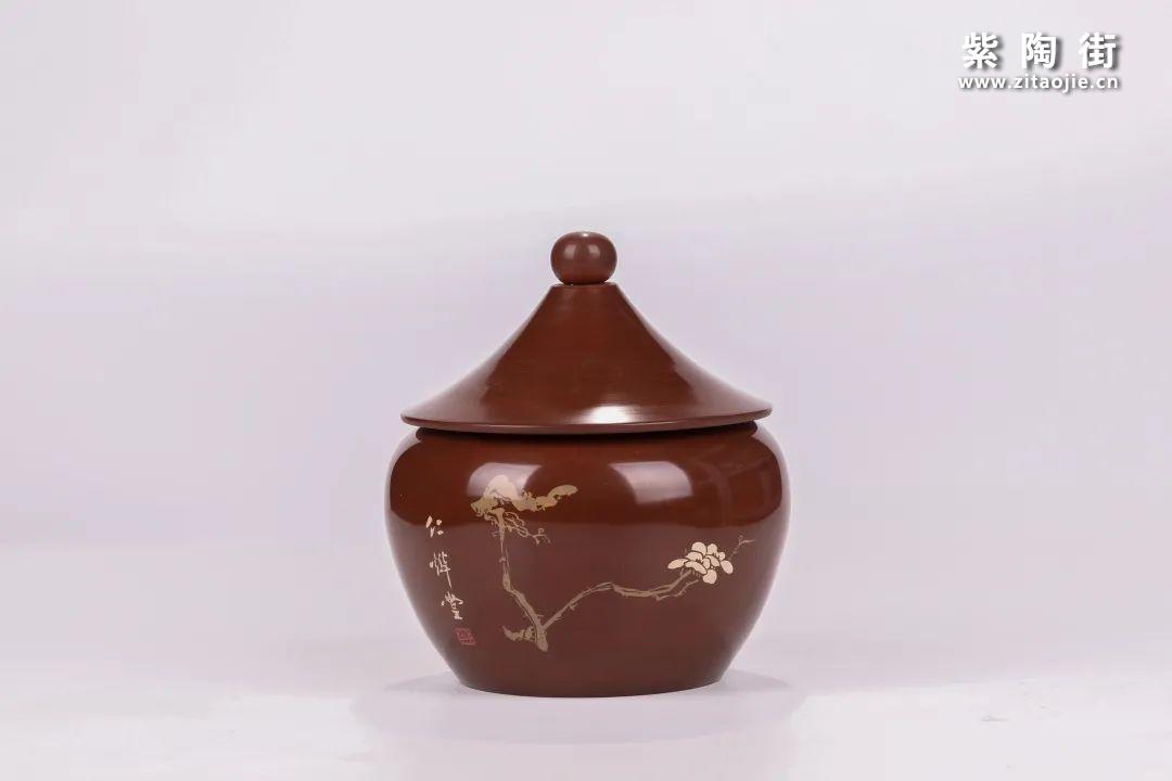 建水紫陶醒茶罐插图21