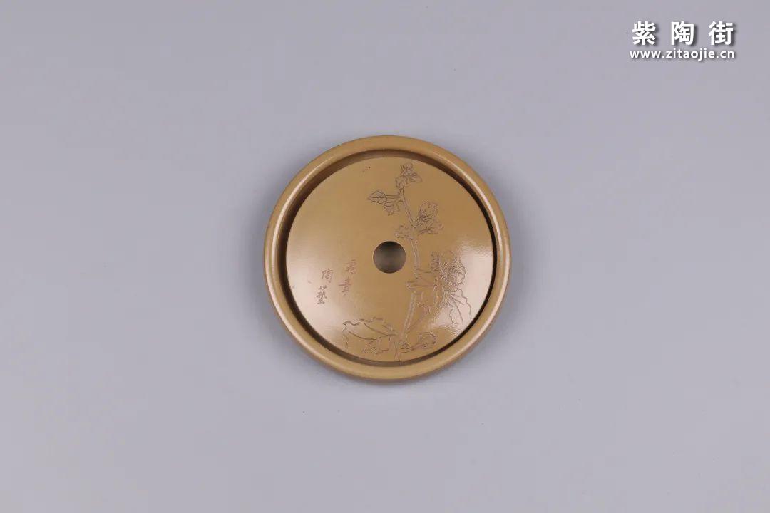 建水紫陶干泡盘插图61