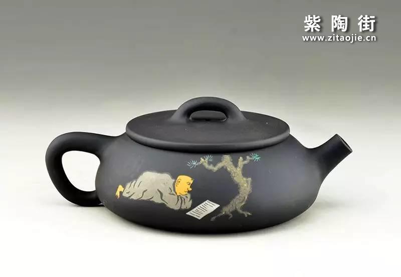 王志伟紫陶壶插图13