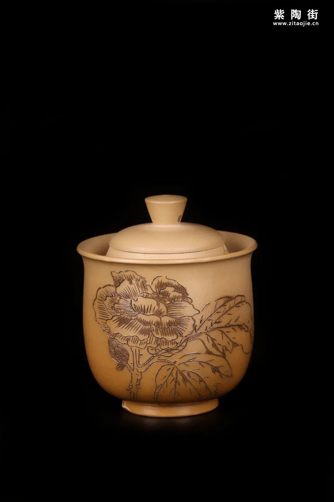 建水紫陶盖碗插图22