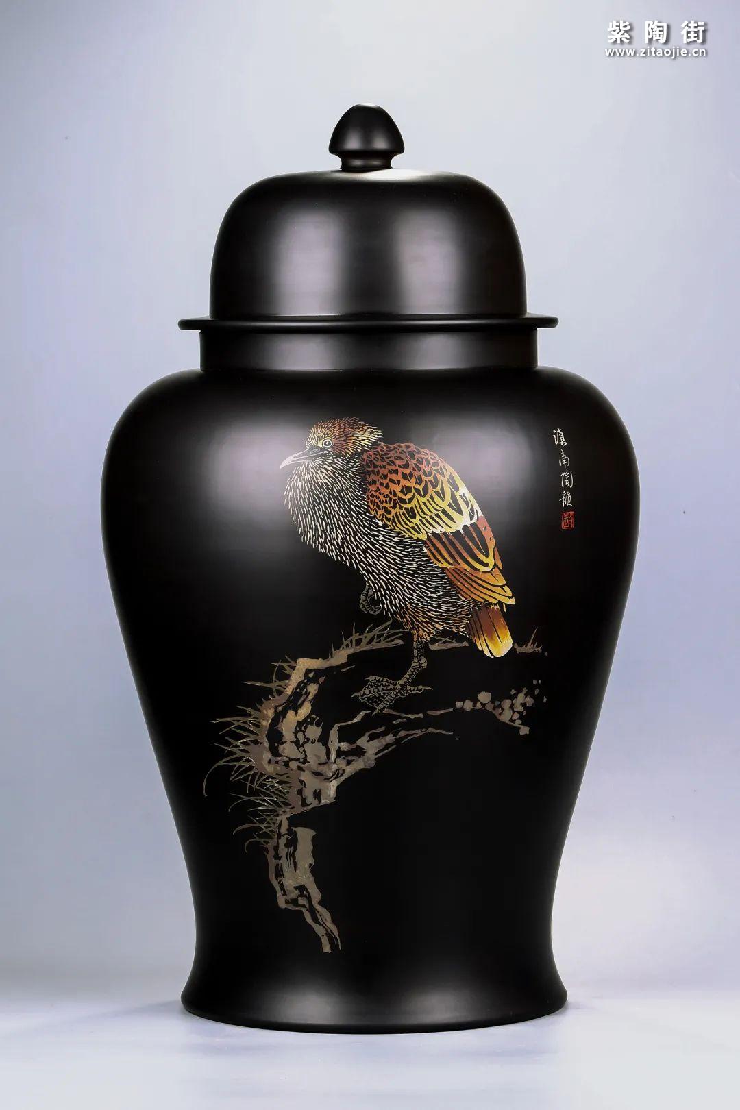 建水紫陶将军罐欣赏插图12