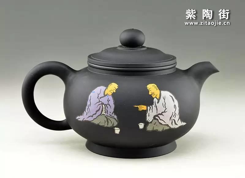 王志伟紫陶壶插图10