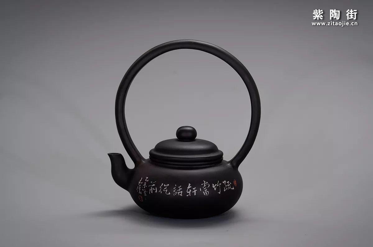 王志伟建水紫陶提梁壶汇总插图11