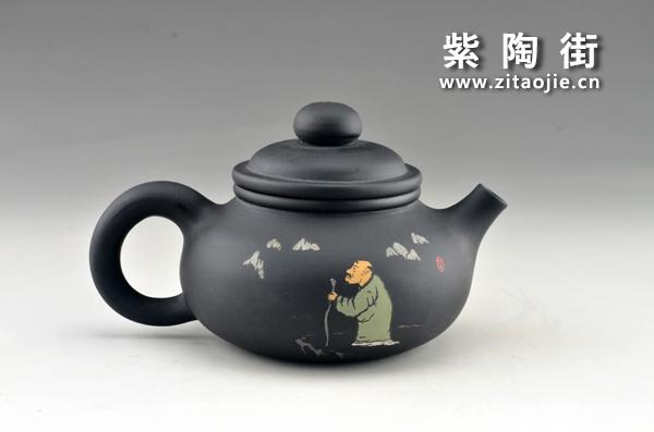赏壶-王志伟紫陶工作室出品插图1