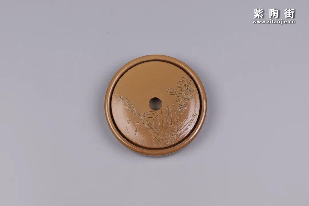 建水紫陶干泡盘插图79