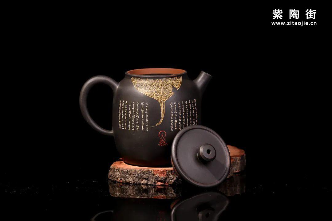 装饰有禅意的建水紫陶壶插图18