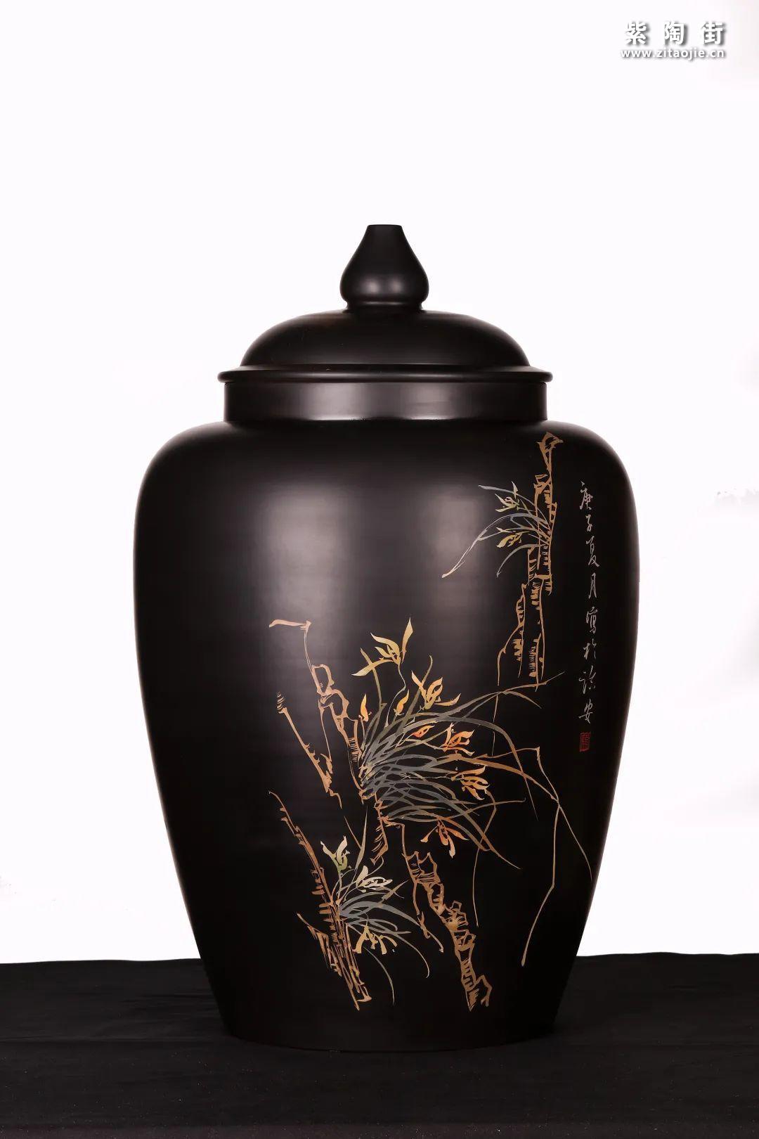 建水紫陶精品茶缸雅赏插图27