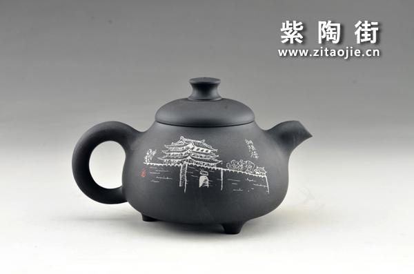 赏壶-王志伟紫陶工作室出品插图23