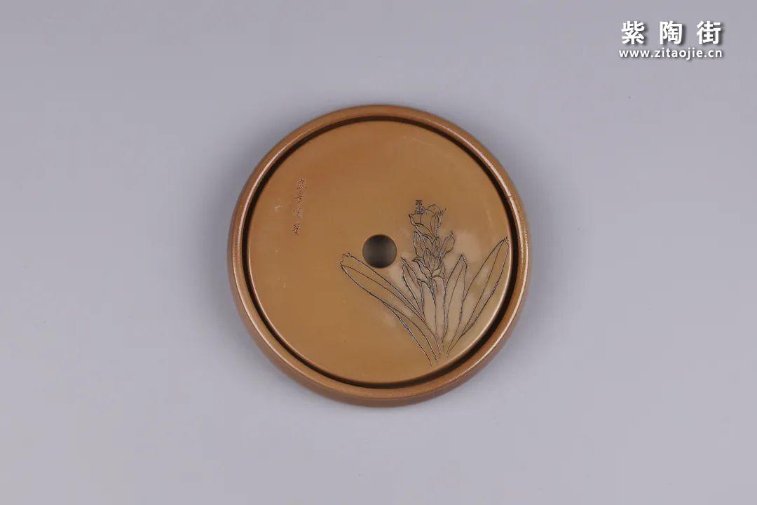 建水紫陶干泡盘插图130