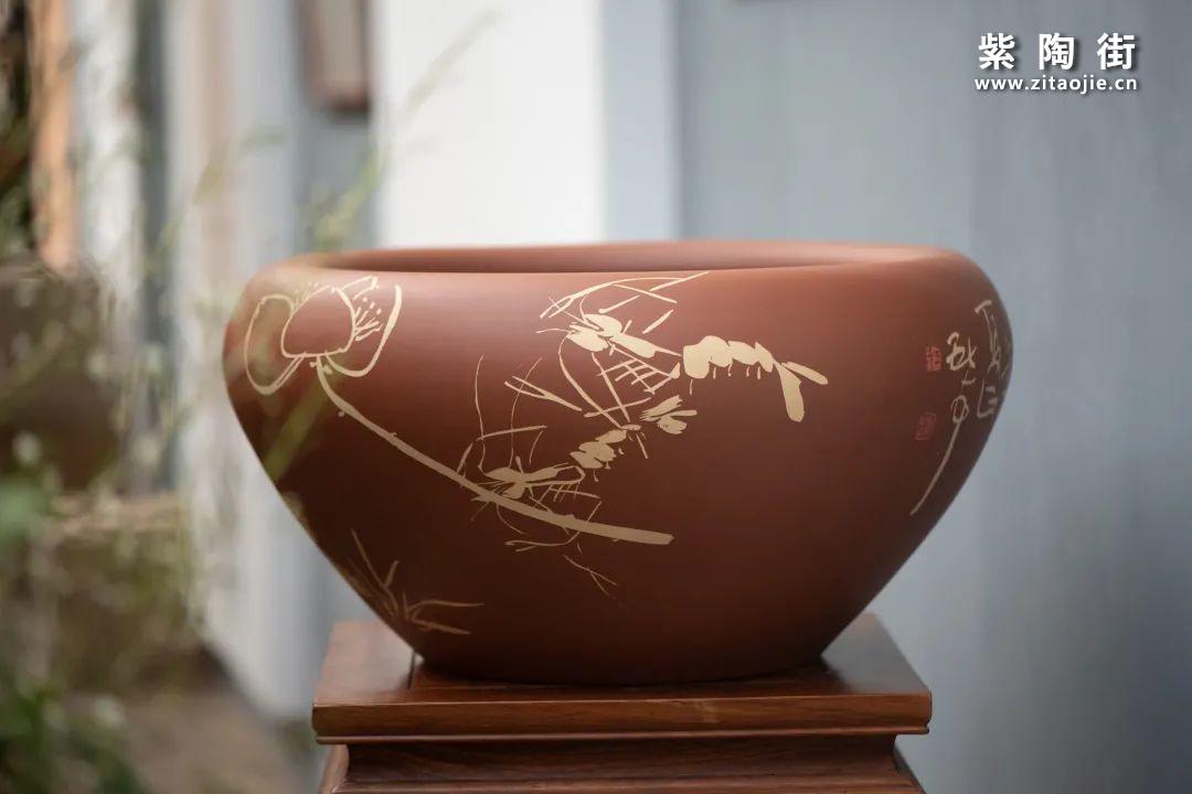 建水紫陶羊肝红是什么样子的插图31