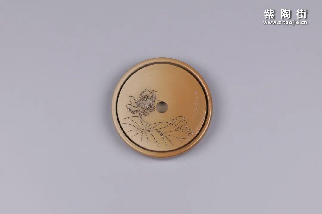 建水紫陶干泡盘插图60