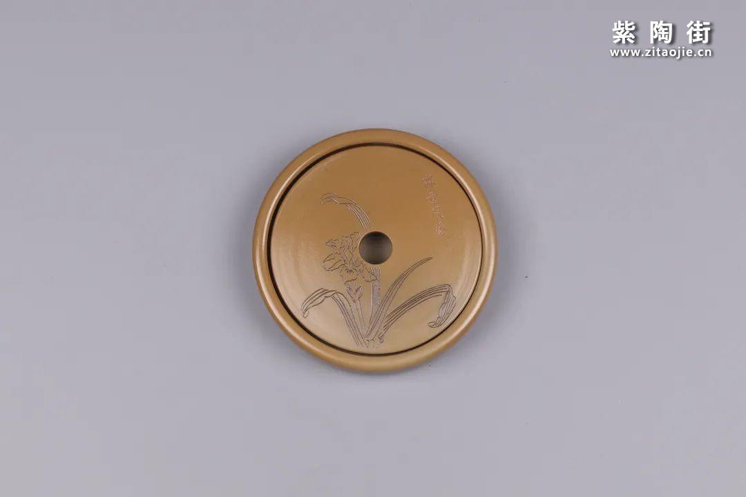 建水紫陶干泡盘插图66