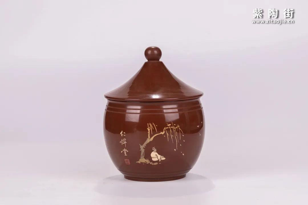 建水紫陶醒茶罐插图24