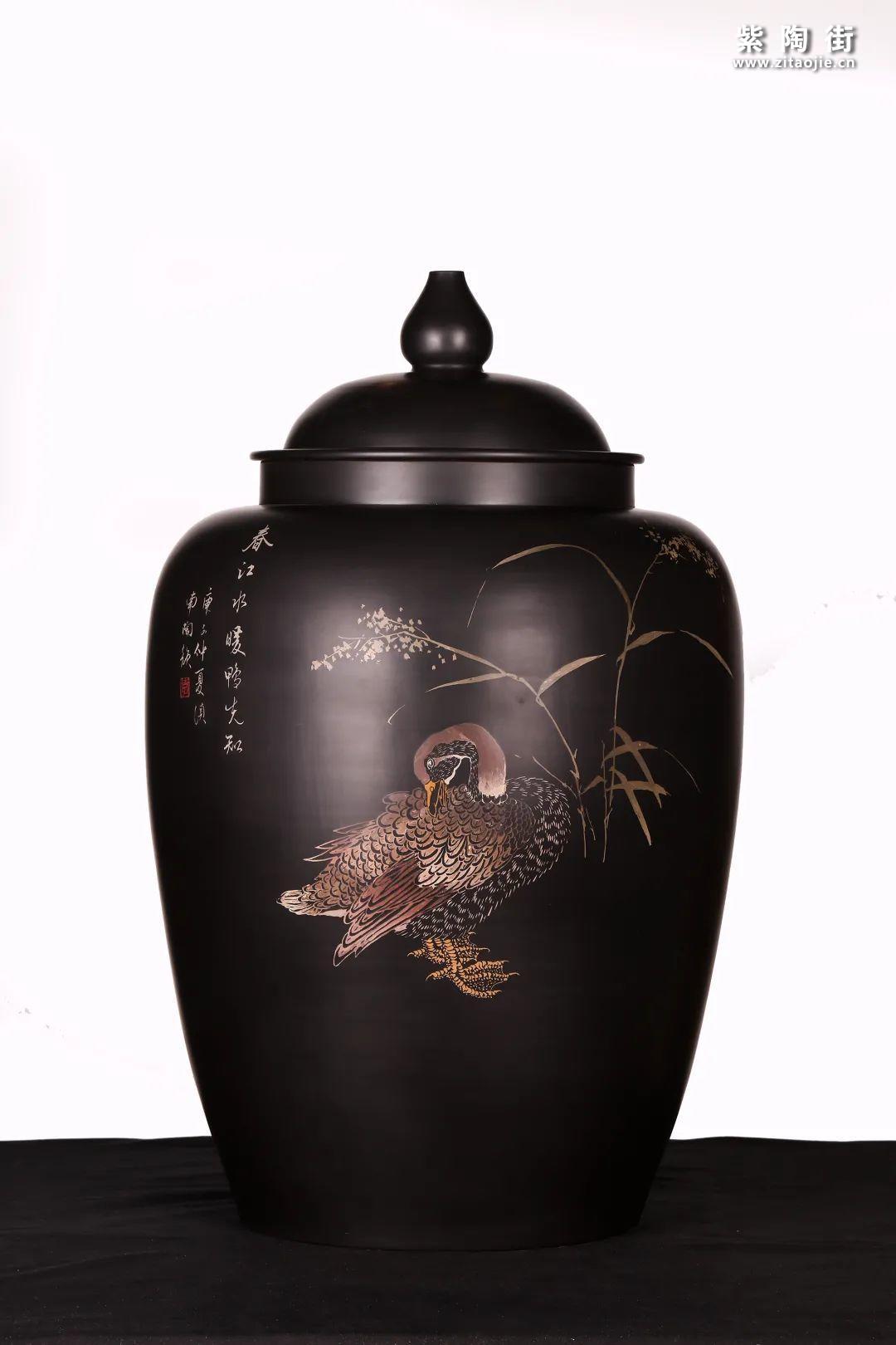 建水紫陶精品茶缸雅赏插图13