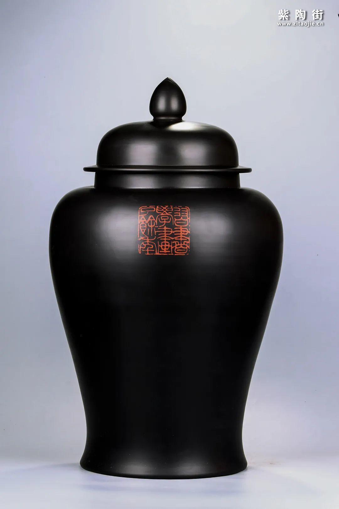 建水紫陶将军罐欣赏插图29