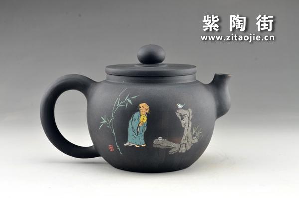 赏壶-王志伟紫陶工作室出品插图5