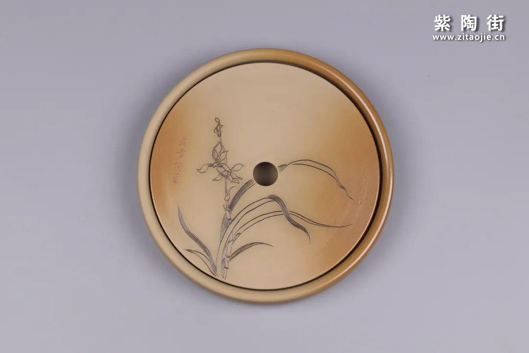 建水紫陶干泡盘插图10