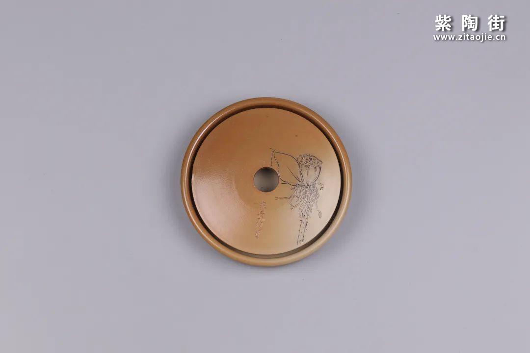 建水紫陶干泡盘插图72